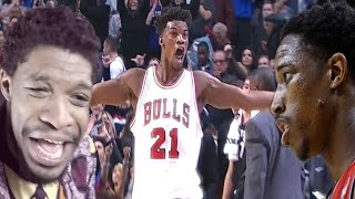 Download WHO DOES JIMMY THINK HE IS?!? RAPTORS vs BULLS HIGHLIGHTS REACTION Video