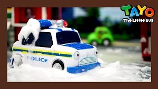 Download Waterproof Police Car (Feat. Sergeant Cooper) l Tayo's Toy Adventure #17 l Tayo the Little Bus Video