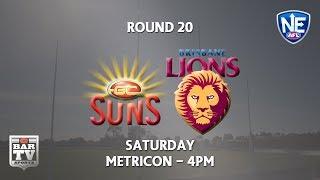 Download 2018 Round 20 - Gold Coast Suns v Brisbane Lions Video