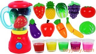 Download Learn Colors with Fruit Blender Toys Slime Clay Surprise Toys Nursery Rhymes Best Kids Videos Video