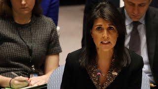 Download US vetos 'insulting' UN vote over status of Jerusalem Video