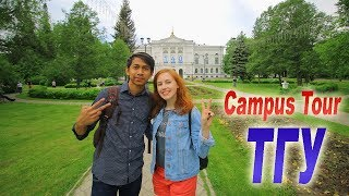 Download Campus Tour - Tomsk State University, Russia Video
