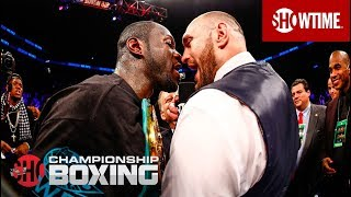 Download Deontay Wilder & Tyson Fury Exchange Words | SHOWTIME CHAMPIONSHIP BOXING Video