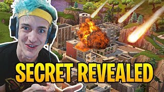 Download Ninja Reacts to Tilted Towers Being Destroyed by Meteors! | Fortnite Best Moments #15 Video