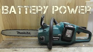Download Makita Brushless 36v (18v x2) battery chainsaw DUC353 / XCU03 Review Video
