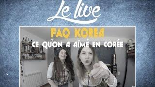 Download CE QU'ON A AIMÉ EN CORÉE DU SUD LE LIVE Video