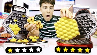 Download i used 1 STAR vs. 5 STAR rated food products !!! Video