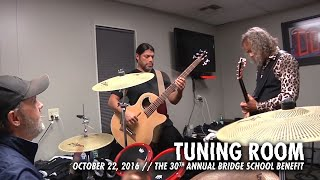 Download Metallica: Tuning Room (MetOnTour - Bridge School Benefit - 2016) Video