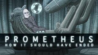 Download How Prometheus Should Have Ended Video