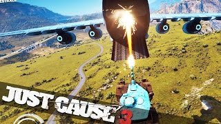 Download JUST CAUSE 3 MOVIE STUNTS :: Just Cause 3 Crazy Stunts Video