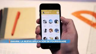 Download Swarm, la nueva aplicación de foursquare Video