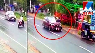 Download CCTV footage shows horror moment from wayand accident | Manorama News Video