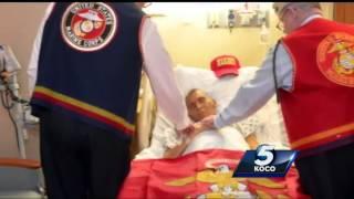 Download Dying Marine veteran gets one last wish Video