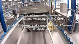 Download VON ARDENNE Wafer Metallizer WM 70 H/C HIGH END COATING LINE Video