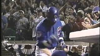 Download Sammy Sosa HRs in Games 1 & 2 of 2003 NLCS Video