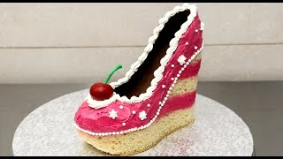 Download Shoe Cake Idea - How To Make / Torta Zapato by CakesStepbyStep Video