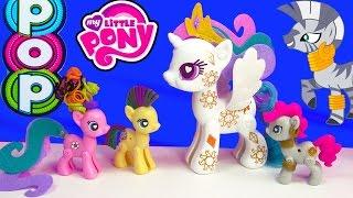 Download MLP POP My Little Pony Pop Cutie Mark Magic Princess Celestia Zecora Kit Playset Toy Unboxing Video