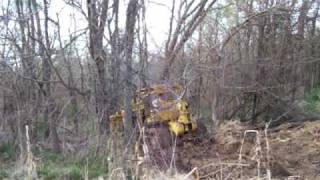 Download Pulling my stuck international td 20 dozer with Jeff's towing by joy Video