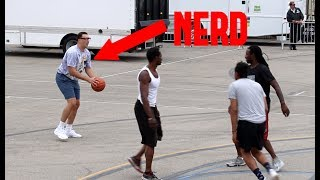 Download NERD BALLS ON STRANGERS!! Video