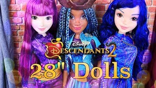 Download Unbox Daily: Disney Descendants 2 | 28 inch ISLE DOLLS | New Toys Review Video