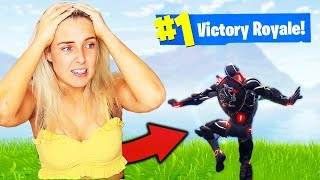 Download GETTING MY SISTER A WIN in Fortnite Battle Royale Video