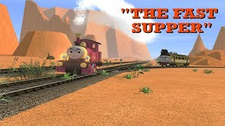 Download Looney On Rails: Lady and Diesel 10 in ″The Fast Supper″ Video