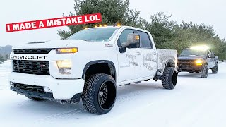 Download I MADE MY 2020 DURAMAX COMPLETELY USELESS OFFROAD... FT. Jeep Winner Takes Delivery!!! Video