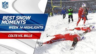 Download Best Snow Moments from Colts vs. Bills | NFL Wk 14 Highlights Video