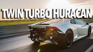 Download Twin Turbo Lamborghini Huracan Test Drive with John Hennessey Video