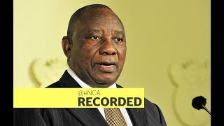 Download Ramaphosa to outline plans to reignite economy Video