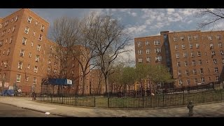 Download Streets of Red Hook, Brooklyn - Drive Through Hamilton, Lorraine, Dwight, Clinton, Van Dyke.. Video