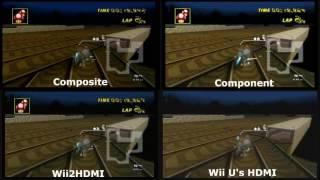 Download Elgato Video Recording Comparison Wii - Composite vs Component vs Wii2HDMI vs Wii U's HDMI Video