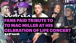Download Fans Paid Tribute to Mac Miller at His Celebration Of Life Concert Video