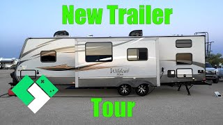 Download NEW TRAVEL TRAILER TOUR (4.11.15 - Day 1107) Video