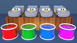 Download Learn Colors with Lightning Mcqueen Surprise Soccer Balls #h Magic Liquids for Children Toddlers Video