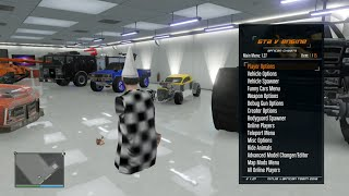 Download NiNJA/African GTA V Menu | Preview | TU27 Video