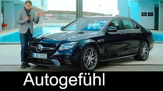Download Mercedes-AMG E63S V8 612 hp FULL REVIEW test driven E-Class E63 AMG E-Klasse 2017/2018 Video