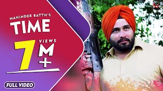 Download Time | Maninder Batth | Official Full Video Song | Latest Punjabi Song | Batth Record Video