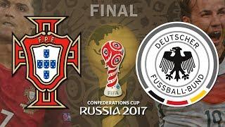 Download Portugal x Alemanha - Copa das Confederações 2017 Russia - Final - PES 2017 Video