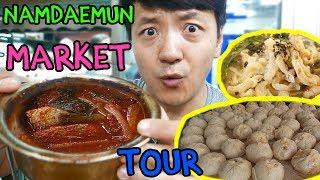 Download Street Food Tour of LARGEST TRADITIONAL Market in Korea: Namdaemun Market Video