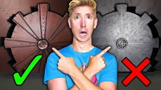 Download EXPLORING SECRET VAULT & TRAPPED in HIDDEN UNDERGROUND ABANDONED HACKER TUNNEL with PUZZLES! Video