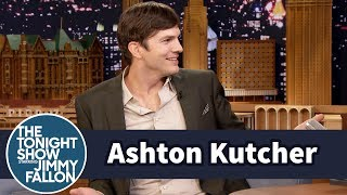Download Ashton Kutcher Can't Stop Singing Moana Video