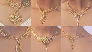 Download Latest Gold & Diamond Bridal Set and Casual wear necklaces designs Movies Video