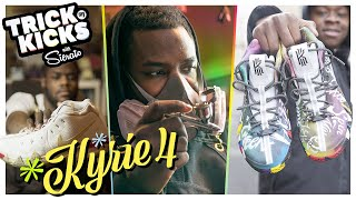 Download The Best Sneaker Artist In The WORLD! Sierato Makes FIRE Custom Kyries For FILAYYYY 🔥 Video