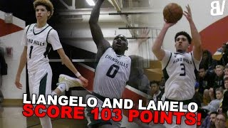 Download Ball Brothers Combine for 103 Points! Chino Hills VS Rancho Christian Full Highlights Video