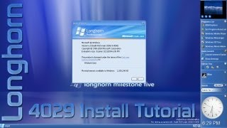 Download Microsoft Longhorn Build 4029 Install Tutorial Video
