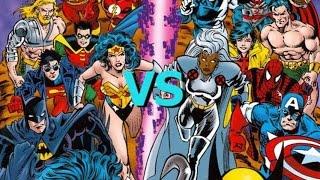 Download Marvel VS. DC Video