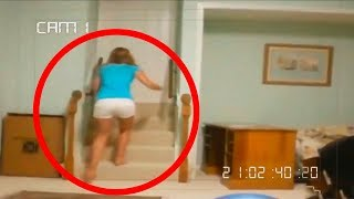 Download 10 WEIRD THINGS CAUGHT ON SECURITY CAMERAS & CCTV Video