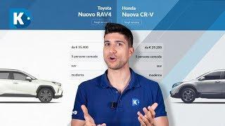 Download Honda CR-V Hybrid vs Toyota RAV4 Hybrid   Consumi reali e differenze dei SUV ibridi! Video