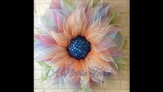 Download A Noble Touch Flower Wreath Tutorial Video